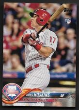 2018 Topps # 259 RHYS HOSKINS RC Rookie Factory Set Photo Variation Phillies