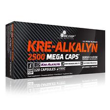 KRE-ALKALYN OLIMP NUTRITION CREATINA ALCALINA 120 CAPSULE DA 1,25 GR. RISPARMIO!