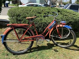 """Vintage Original 1940's Shelby Flying Cloud Bicycle Women's Full Size 26"""""""