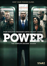 Power: The Complete Second 2nd 2 Season (DVD, 2016) NEW