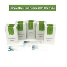 100pcs/box Disposable Acupuncture Sterile Needles one Pipe Single tube