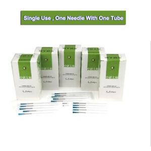 100pc/box Acupuncture TCM single Needles with single guide tube ZhongYanTaiHe