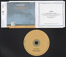 CD SINGOLO PROMO NOT FOR SALE LUCA CARBONI CALDINO 1998 RCA BMG BOLLINO SIAE
