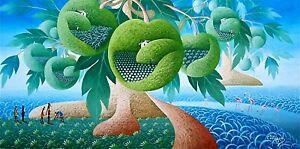 Haitian Painting Kens Cassagnol Haiti