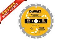 """DeWalt Construction Fast Cut Framing Circular Saw Blades 18T 7-1/4"""""""
