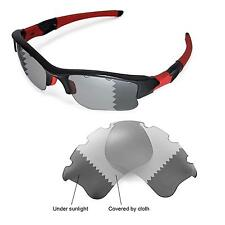 WL Polarized Transition/Photochromic Vented Lenses For Oakley Flak Jacket XLJ