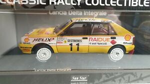 SUNSTAR MODELS - LANCIA DELTA INTEGRALE 89' RALLY - 1:18 SCALE MODEL CAR - 3129