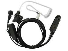 2-wire Surveillance Earpiece mic For Motorola GP328 PRO7550 HT750 HT1250 HT1550