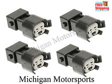 LS1 EV1 to EV6 EV14 USCAR LS2 LS3 LSX LT1 Fuel Injector Connector Adapter QTY 4