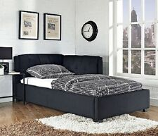 Adult Daybed Sectional Sleeper Sofa Black Twin Bed For Small Spaces Upholstered