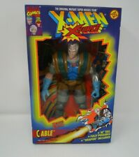 "Cable 1994 Deluxe Edition 10"" X-Force X-Men MARVEL Toy Biz MIB"
