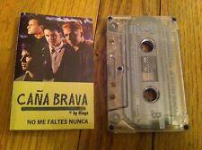Vintage CANA BRAVA by Ringo NO ME FALTES NUNCA Cassette Tape ME PUSE BEBER COMO