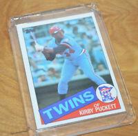 Vintage TOPPS KIRBY PUCKETT ROOKIE Baseball Card #536 1985 Very Nice