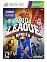Big League Sports Xbox 360 Kids Kinect Game Baseball/golf/soccer/hockey/training