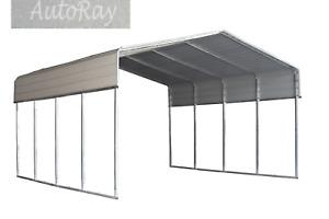 QLD 6x6M Carport Kit Backyard Shade Shelter Portable Shed Carports Pergola