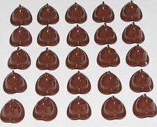 LEGO LOT OF 25 NEW REDDISH BROWN CONQUISTADOR PIRATE MINIFIGURE HELMETS HATS