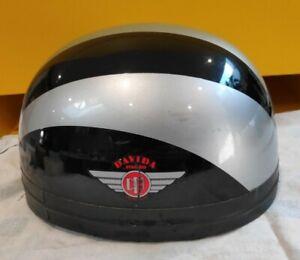 Davida Open Face Cafe Racer Helmet (Not legal on UK Rd, collectors Item) Size XS
