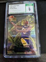 1996-97 Fleer Metal Kobe Bryant Cyber-Metal #5 Rookie RC CSG 9 MINT PSA COMP