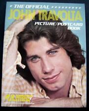 The Official John Travolta Picture Postcard Book 23 Full Color Post Cards