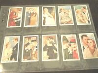 1935 Famous Film Scenes Complete (48) Card Set by Gallaher LTD. NM Condition
