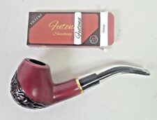 Portable Red Wood Smoking Pipe Tobacco Cigar Pipes Wooden Gifts Pipe Bundle USA
