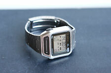 Omega Sensor Quartz,   vintage digital Chronograph watch,   LCD SensorQuartz