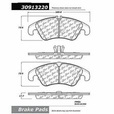 StopTech 309.13220 Front Sport Disc Brake Pad For 09-16 Audi A4 Quattro