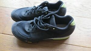 Size 42 (fit a UK 7) Womens Cycling Shoes - Giro Petra VR Black/Wild Lime