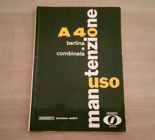 Innocenti A40 Libretto Manuale Uso e Manutenzione 1962 ORIGINALE