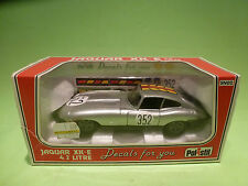 POLISTIL 1:25  JAGUAR XK-E  4.2 LITRE -  IN ORGINAL BOX  - IN GOOD CONDITION