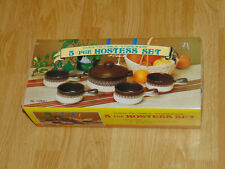 Casserole Baking Dish + Ramekins Stoneware 5 Piece Hostess Set - Oven To Table