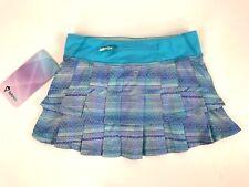 Ivivva Set The Pace Skirt Size 8 Blue Purple Tennis Running NWT Swift Ultra