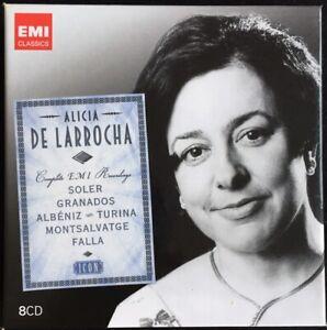Alicia De Larrocha | Complete EMI Recordings 1962-1992 - Soler u.a. | 8-CD ℗2010