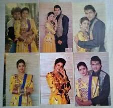 Bollywood actors Divya Bharti Bharati Armaan Kohli 18 Rare postcards post cards