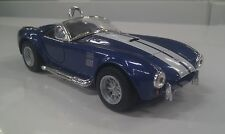 1965 Shelby Cobra 427 blue kinsmart Toy model 1/32 scale diecast present gift