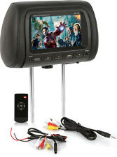 "Concept Mp-7000B Black 7"" Widescreen Lcd Monitor Universal Headrest Mp7000B"