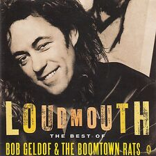 Bob Geldof & The Boomtown Rats: Loudmouth-The Best of/CD-come nuovo