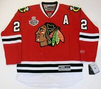 DUNCAN KEITH CHICAGO BLACKHAWKS 2010 CUP RBK JERSEY