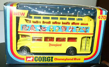 1976 CORGI DISNEYLAND BUS #470 SCALE 1-55 MIP 8+ Diecast Disney Bus Boys & Girls
