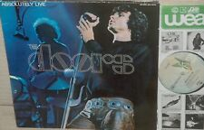 THE DOORS :Absolutely Live 1970*CLASSIC ROCK *ELEKTRA  2LP  CODE A