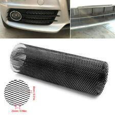 """Black Universal Aluminum Car Vehicle Body Grille Nets Mesh Grill Section 40""""X13"""""""
