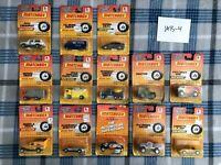 NIB * VTG * OLDER 1990'S MATCHBOX DIE CAST TOY CARS SEALED LOT of 13 ITEMS NEW!!