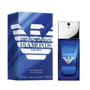 Emporio Armani Diamonds Club Men by Giorgio Armani EDT Spray 1.7 oz NIB