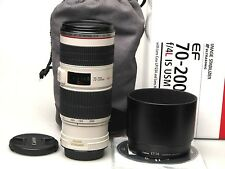 Canon EF 70-200mm f4 L IS USM-ECCELLENTE -