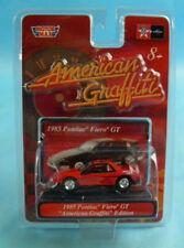 MotorMax American Graffiti 1985 Pontiac Fiero GT Red Die Cast