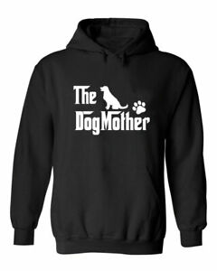 Funny The Dog Mother Sarcastic Dog Mom Pet Lovers Gift For Her Woman's Hoodie