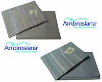 Completo letto, Lenzuola, 100% Cotone. AMBROSIANA - 2370. Singolo - 1 Piazza.