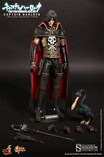 "HOT TOYS MMS222 SPACE PIRATE CAPTAIN HARLOCK 1/6 12"" MOVIE MASTERPIECE NEW"