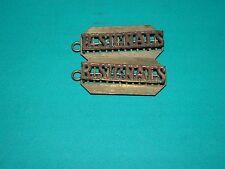 militaire badge : Paire de titres : ROYAL signals