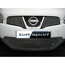 ZUNSPORT SILVER FRONT GRILLE SET for NISSAN QASHQAI 2.0 Diesel 2010-13